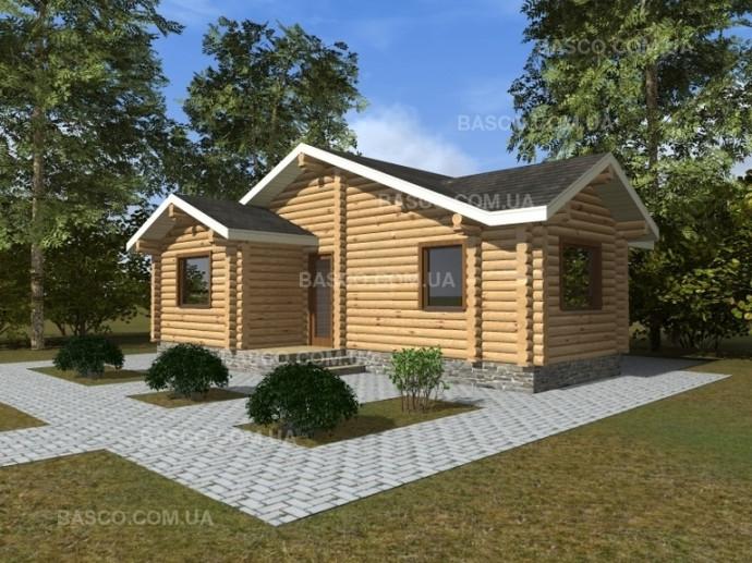Проект деревянного дома — «Апельсин»
