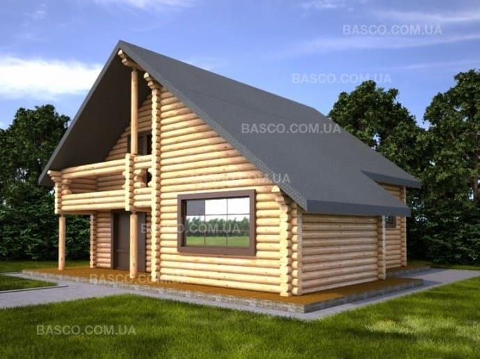 Деревянный дом — «Базилик»