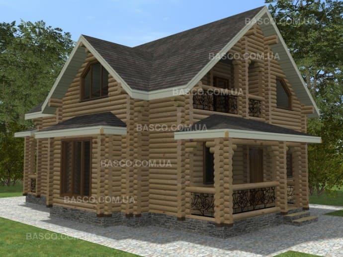 Деревянный дом «Монарх»