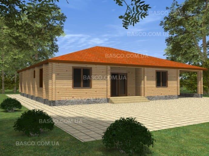 Дом из дерева — «Ульяна»