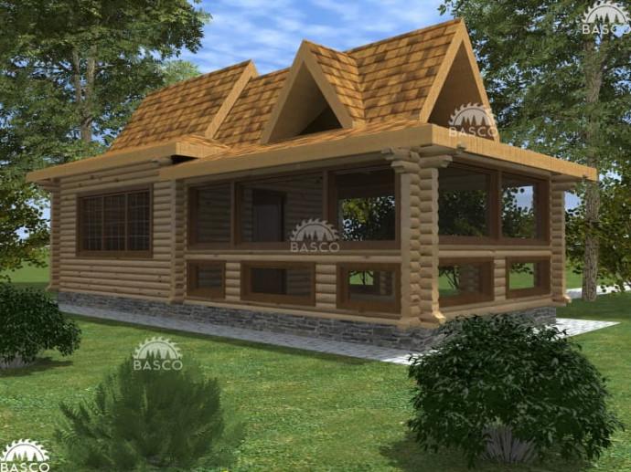 Дом с беседкой — «Барбекю»