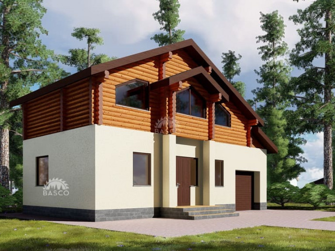 Дом в стиле шале «Аметист»