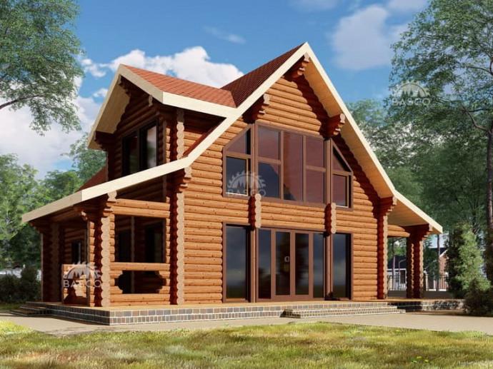 Проект деревянного сруба «Арго»