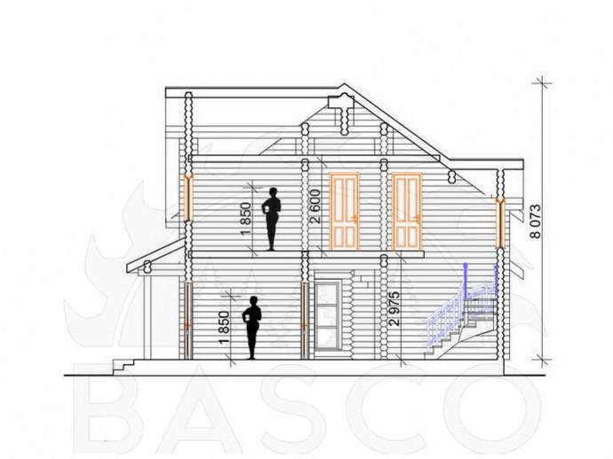 Двухэтажный дом «Ариадна»