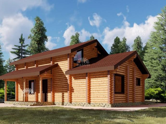 Строительство дома «Арника»