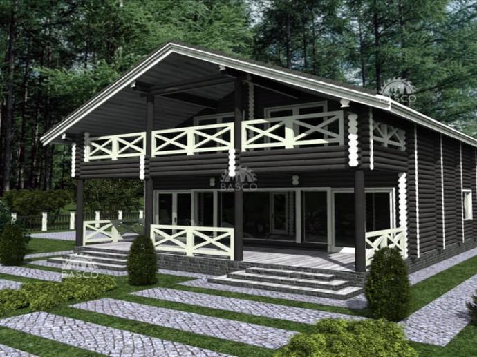 Деревянный особняк — «Аслард»