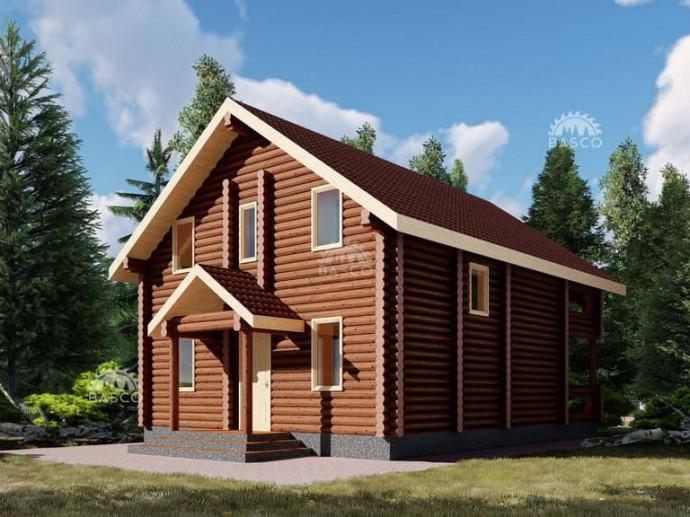 Дом с террасой «Бельведер»