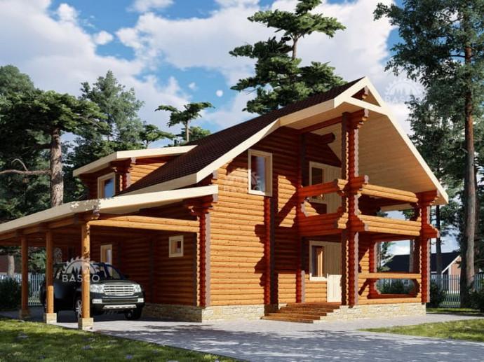 Быстровозводимый дом «Бикар»