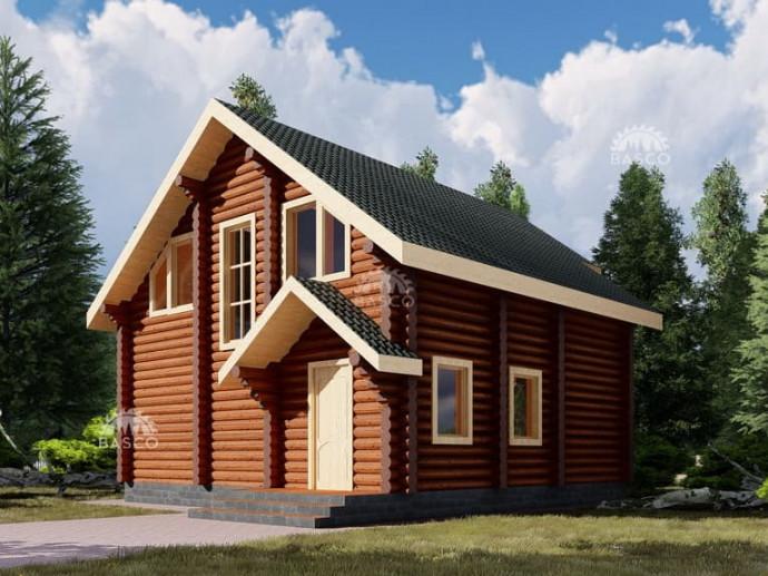 Дом из дерева «Братислава»