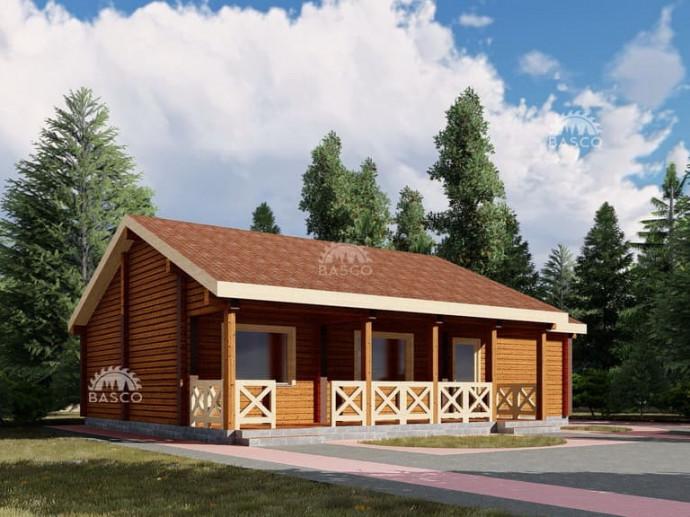Деревянный дом — «Дариус»