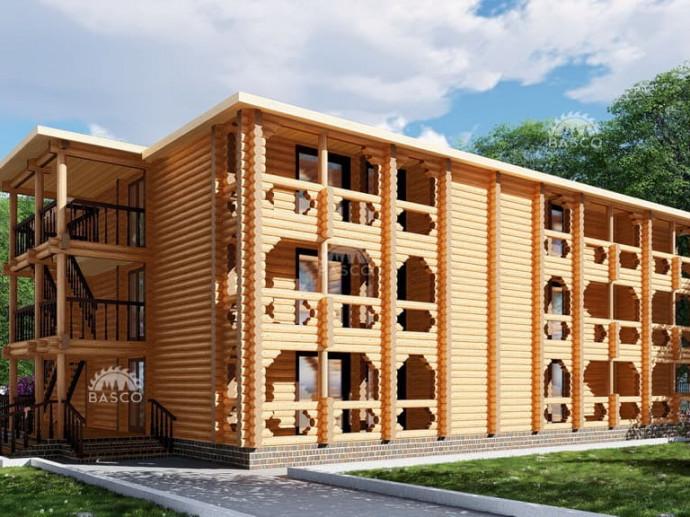Трехэтажная гостиница — «Династия»