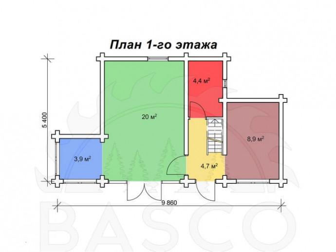 Дом-дача — «Эмир»