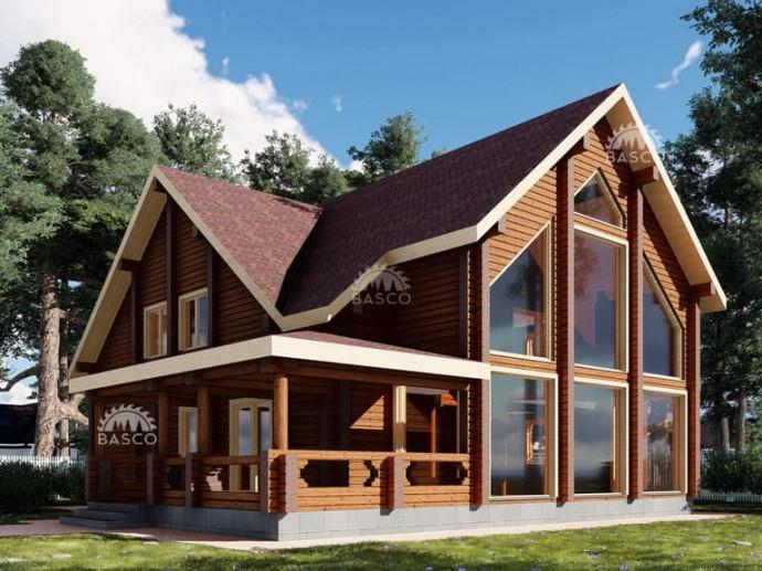 Деревянный дом — «Фелиция»