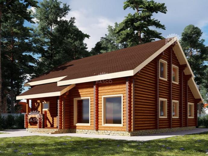 Деревянный дом — «Гарсон»