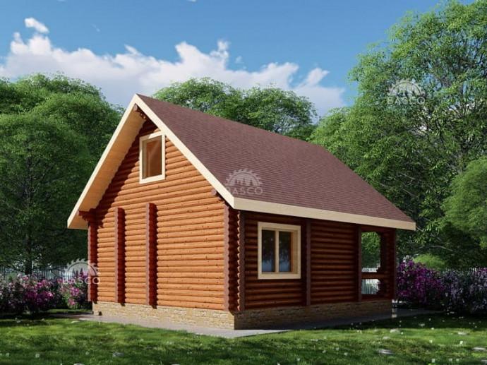 Деревянный дом — «Герда»