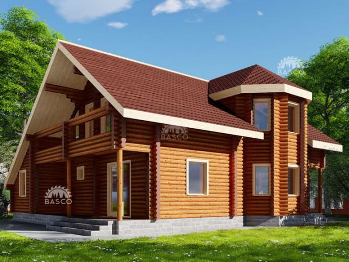 Дом из бруса — «Гора»