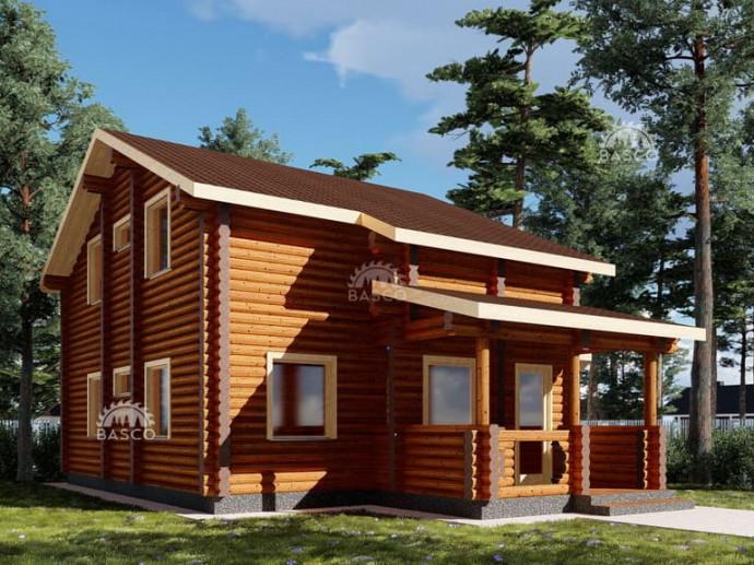 Деревянный дом-сруб — «Говард»