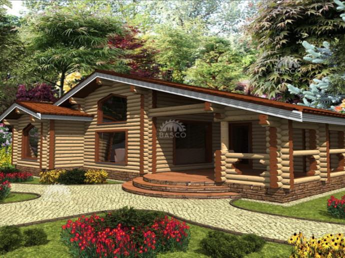 Одноэтажный дом — «Гранль»