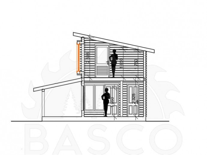 Стильный загородный дом — «Индиго»