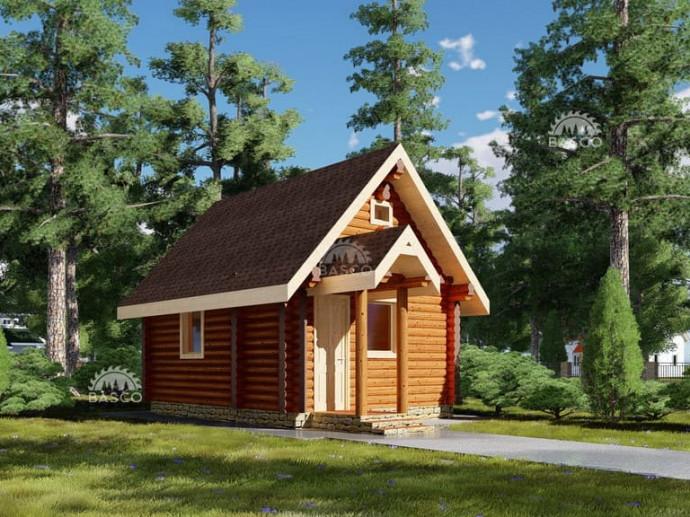 Гостевой дом из дерева — «Инфант»