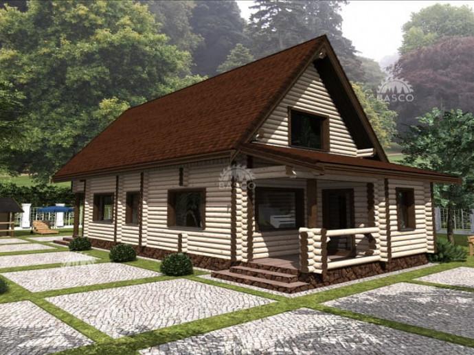 Дом из бруса — «Ивнер»