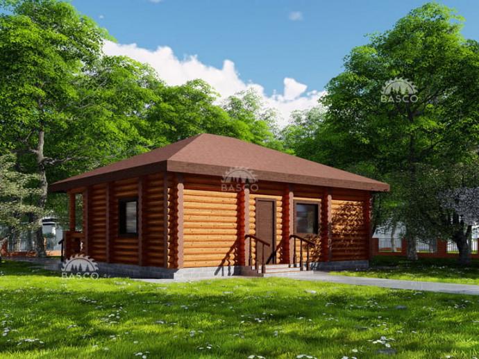 Готовый жилой домик — «Калина»