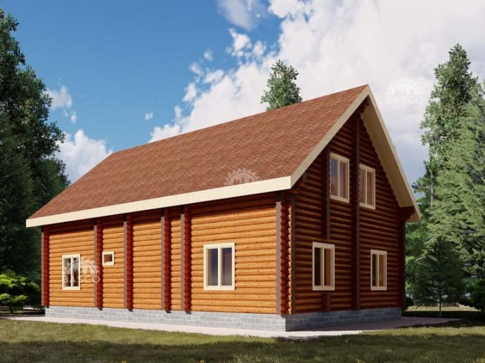 Деревянный дом — «Хелена»
