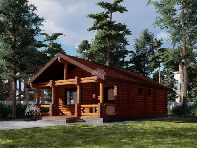 Деревянный дом — «Ласточка»