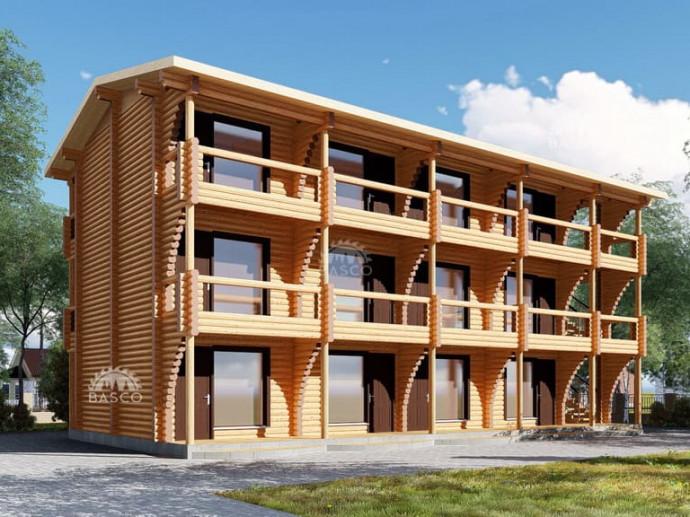 Трехэтажная гостиница — «Малибу»