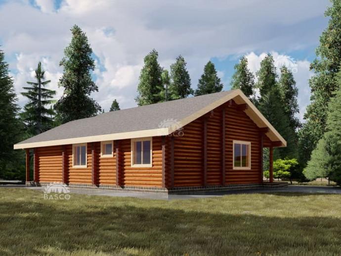 Проект деревянного дома — «Марго»