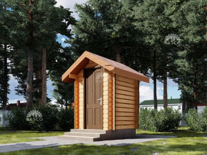 Сторожка деревянная — «Мокко»