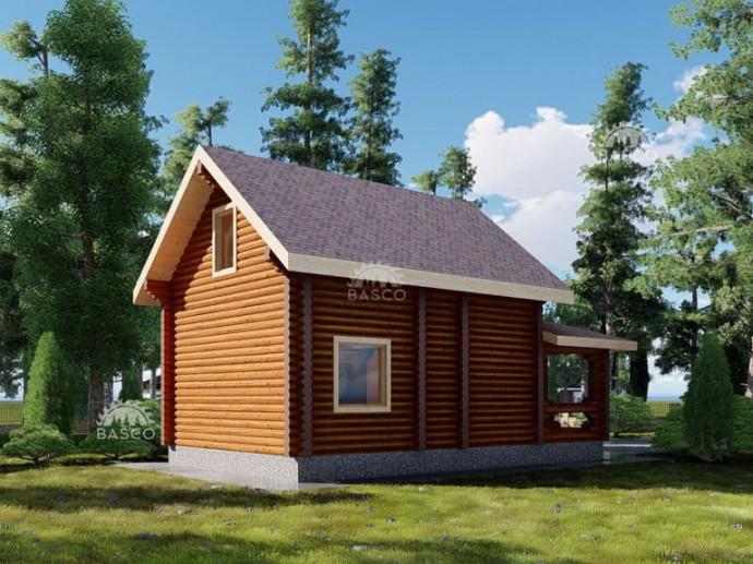 Деревянный дачный дом — «Оливер»