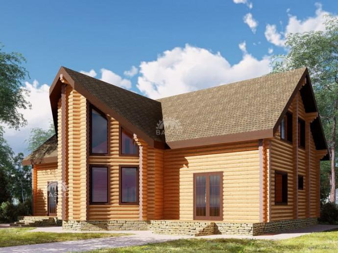 Жилой деревянный дом — «Рулада»