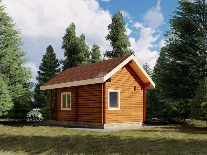 Деревянный домик — «Сильва»