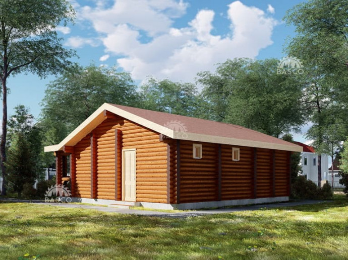 Дом дачного типа из дерева — «Соул»