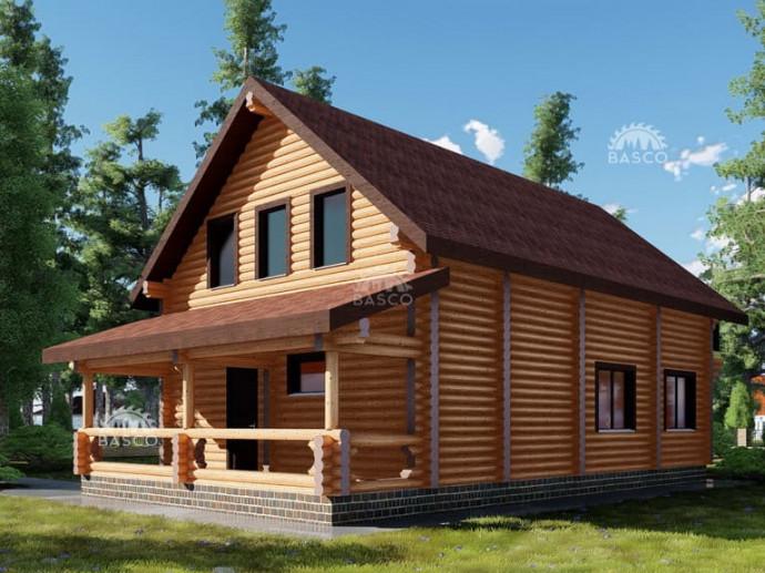 Деревянный дом — «Вилла»