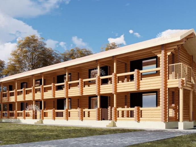 Деревянная гостиница — «Ядвига»
